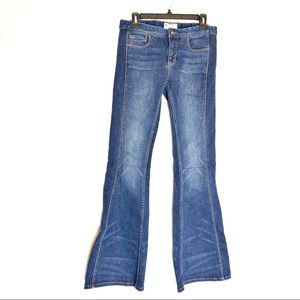 Free people bell bottom flare jeans